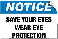 メタルティンサイン装飾アイアン絵画、通知保存あなたの目を保護目の保護、メタルポスタープラーク警告サインアイアン絵画アート装飾バーカフェガーデン寝室オフィスホテル