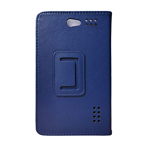 Transwon 7 Inch Phablet Case Compatible with ibowin M710, Tagital 7 Quad Core 3G Phablet, Yuntab E706, BLU Touchbook M7, indigi Phablet 7.0, Fusion5 F704B, LISRUI Phablet 7 Inch, NeuTab Air7 - Navy