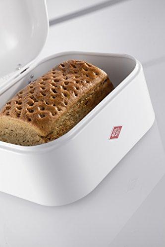 Wesco Grandy Retro Bröd Behållare, 26 x 22 x 17 cm Vitt