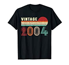 Born in 2004 retro vintage 2004 is a perfect 16 years old 16th birthday gift apparel for kids. It makes a great bday party gifts idea for 16 years old kids, son, sister, brother, children or anyone who are turning 16 years This is the best bday gift ...