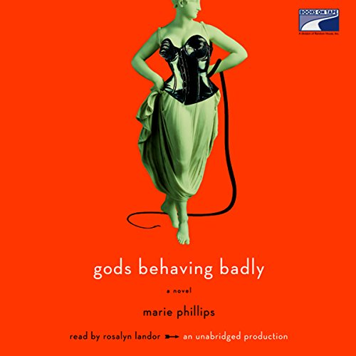 Gods Behaving Badly audiobook cover art