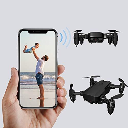 Aereo Telecomando con  videocamera Mini HD 4K Drone