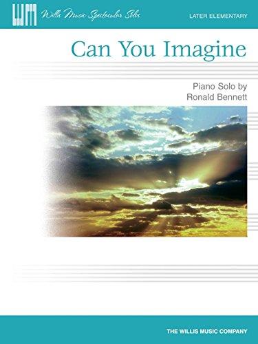 Can You Imagine - Klavier - SHEET