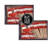 2 Boxes Mini Austria Toothpick...