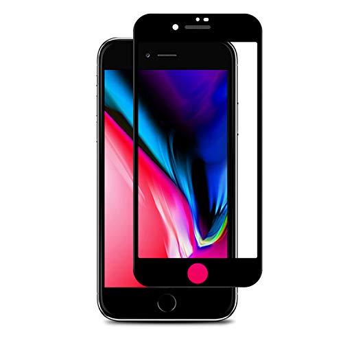 APS 2x Premium Panzerglas für Apple iPhone 7 & 8 inkl. Montagerahmen - Keimfrei 24/7 - Staubschutz für Lautsprecher - 100% Passgenau & Extra Starkes 9 H gehärtetes HD Displayschutzglas