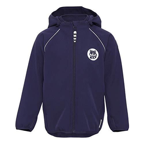 Racoon Unisex-Child Softshell Jacket, Eclipse, 140