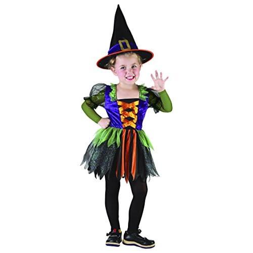 Ciao Streghetta Baby Witch costume bambina (Taglia 4-6 anni) con borsa portadolci Dolcetto o Scherzetto