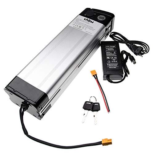 vhbw Batería de Tubo de sillín 16.8Ah 36V Li-Ion Incl. Cargador Compatible...