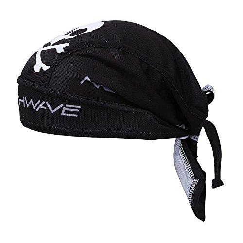 SODIAL(R) Nero Ciclismo bicicletta bici Outdoor Sports Bandana Pirate Hat Cap