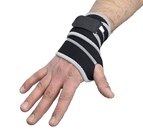XN8 Wrist Support Neoprene Elastic Palm Brace Weight Lifting Breathable Strap Gym Bandage Wrap Splint Brace Ideal for Reducing Pain from with Carpal Tunnel Sprains or Arthritis