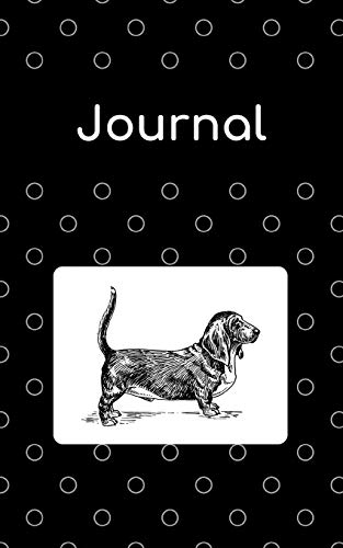 Journal: Basset Hound; 100 sheets/200 pages; 5