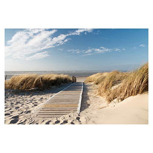 Bilderwelten Vlies Fototapete Strand Ostsee Strand Tapete 190x288cm
