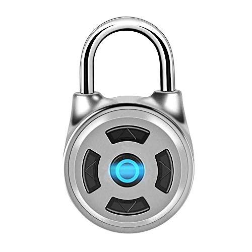 Candado Bluetooth, caja fuerte general, candado electrónico sin llave de metal inalámbrico, bloqueo de código de control de APP