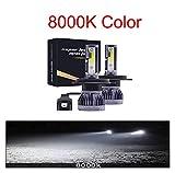 Ampadina para Coches 4 Lados LED Light Light Bulbs H4 H7 9003 HB2 H1 H1 H3 H8 H9 880 9005 9006 H13 881 9007 Auto Car Fader Footlights 12V LED Luz Luces LED para Coches