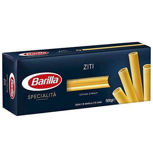 Lot de 10 bâtons de pâte italienne Ziti Napoletani 500 g