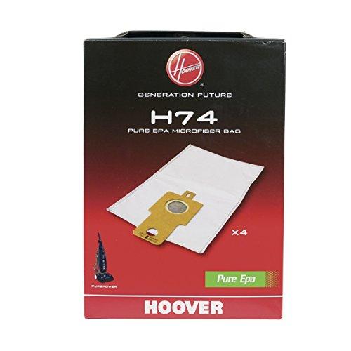 Candy Hoover 35601661 ORIGINAL 4 x Filterbeutel Staubbeutel Filter Schmutzfilter PureEpa H74 Staubsauger