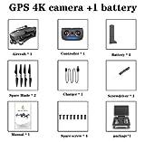 FairOnly Sg906 Pro Drone 4k HD Caméra Gimbal Mécanique 5g Système WiFi GPA Prend en Charge Le Vol de Carte TF 25 Min Rc Distance 1.2 km Valise EPP Jouets