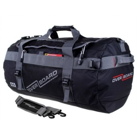 ADVENTURE DUFFEL BAG, 60 L, OVERBOARD nero taglia unica