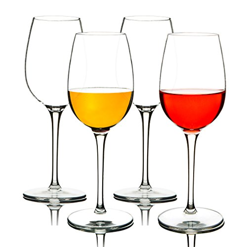 MICHLEY Unbreakable Red Wine Glasses, 100% Tritan Plastic Shatterproof Wine Goblets, BPA-free,...