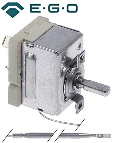 Thermostat 50-310 °C max. 310 °C 1NO 1 -polig Fühler Ø: 4 mm L: 111 mm 16 A Temperaturregler EGO 55.17069.120 für Cookmax