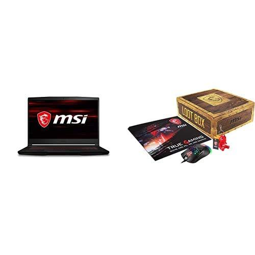 MSI GF63 Thin 10SCSR-876XES - Ordenador portátil Gaming de 15.6' FullHD (Intel Core...
