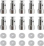Paquete de 10 piezas de repuesto universales de válvula y sellador para ollas a presión.