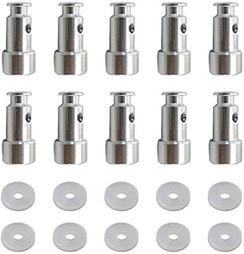 Paquete de 10 piezas de repuesto universales de válvula y sellador para ollas a presión