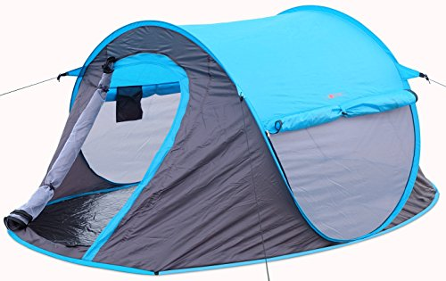 2 Person Pop Up Tent – Opens Instantly in Seconds and is...
