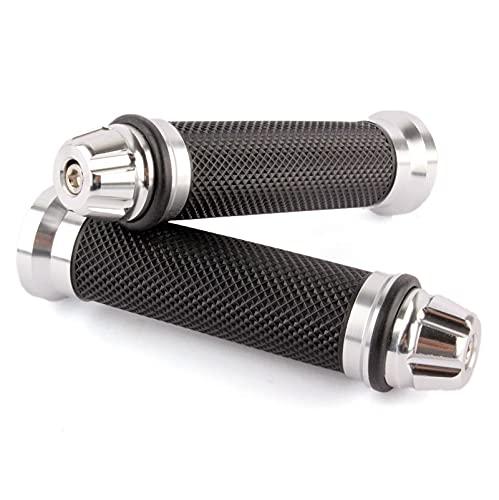 Manillar de goma de aluminio de 22 mm, agarre universal para motocicleta (color: 8)