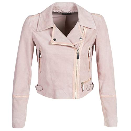 Guess Junko Jacken Damen Rose - M - Lederjacken/Kunstlederjacken Outerwear
