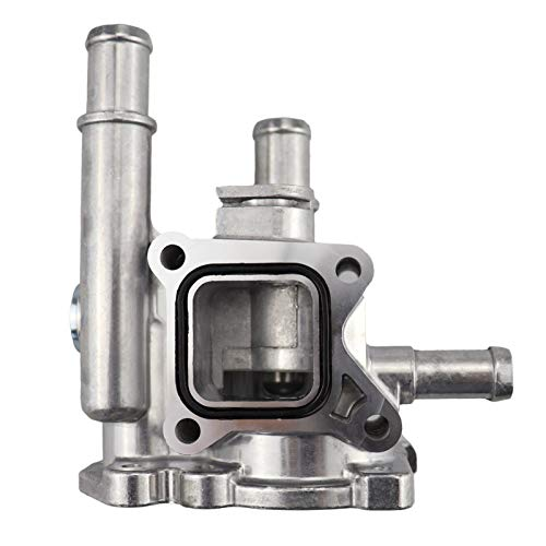 XINGFUQY Cubierta de Aluminio del termostato de enfriamiento del Motor Ajuste for Cruze Opel Astra H J Aveo T300 96984103 96817255 55563530 JWQG003