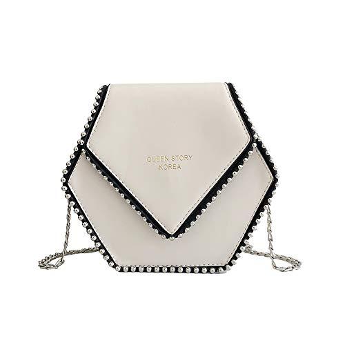 HBOS Hexagon Handtaschen Moderne Frauen Designer Schulter PU Ledertaschen Totes Crossbody Mode Tasche Geldbörse