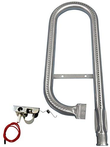 Music City Metals 13511 Edelstahl-Brenner für Gasgrills der Marke Ducane - Silberfarben