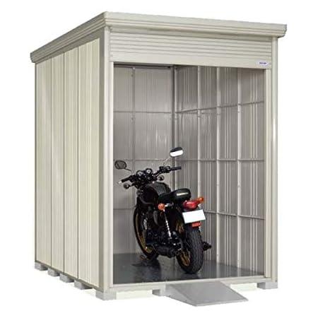 タクボ物置 バイクシャッターマン(床付き) 一般型 標準型 BS-1826 『自転車・バイクの盗難対策に バイクガレージ』