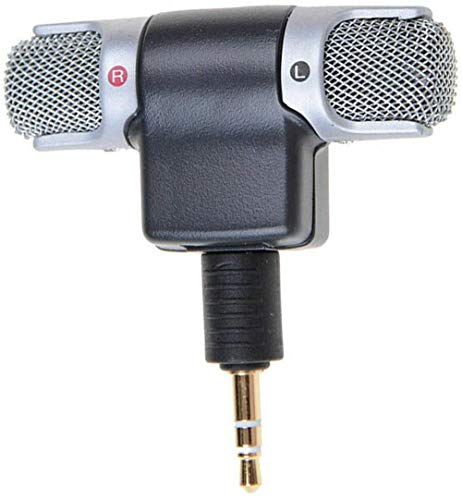 Minimikrofon Für Diktiergerät Drahtlose 3,5-mm-Buchse Für Smartphones (iPhone, iPad, Android usw.) Mikrofon für PC (A, for PC)
