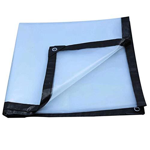 LXF JIAJU Transparente Impermeable E Impermeable Tarpaulina Espesor De Plástico Película De Aislamiento De Aislamiento Toldos Al Aire Libre (Color : Transparent, Size : 10x3m)