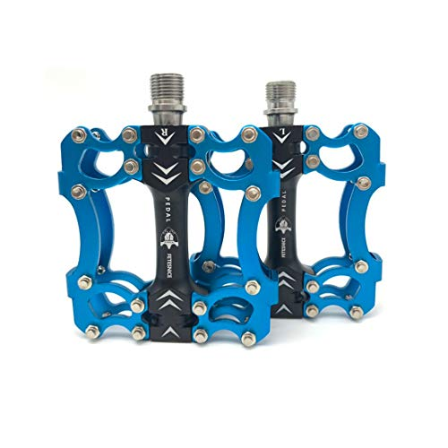 FETESNICE Ciclismo Pedales Fixed Gear MTB BMX Bicicleta Pedales 9/16 Titan Eje...