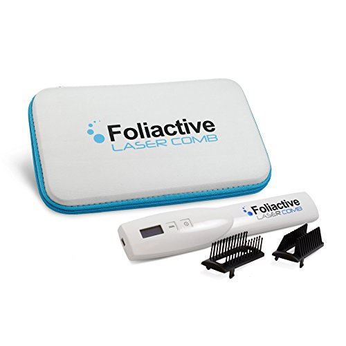 Foliactive - Peine láser indicado para la regeneración capilar y frenar...