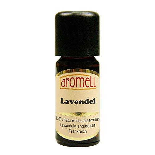 Echter Lavendel (Mailette) - 100{242a8ce2b38ff1a5efdf53e096811b87b513d8c7baa83c8c9dcacf5333a1fd97} naturreines, ätherisches Öl aus Frankreich, 10 ml