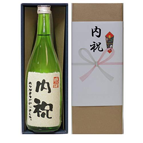 内祝い ありがとうございました 感謝 ラベル(婚礼以外用 内祝い のし付き)日本酒 本醸造720ml ギフト
