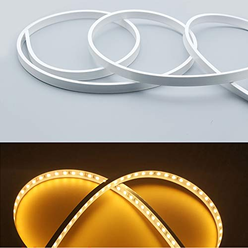 Silicone LED Channel System, LED Aluminum Profile New Substitutes, Soft Bending LED Profile, 5m 13x5mm, Waterproof IP67, Suit for 10mm Flexible LED Light Strip, for Indoor Outdoor Lighting