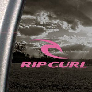 Rip Curl Rose en vinyle-Planche de Surf, skateboard Rose Sticker Camion