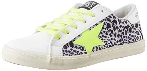 Le Temps des Cerises Unisex City Sneaker, Leo Neon, 40 EU