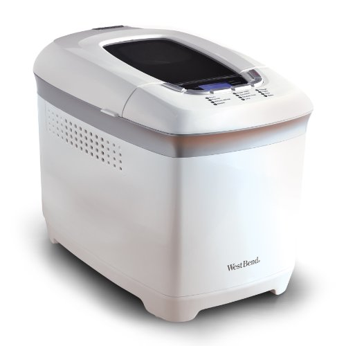 West Bend 41413 Hi-Rise Loaf Programmable Breadmaker,...