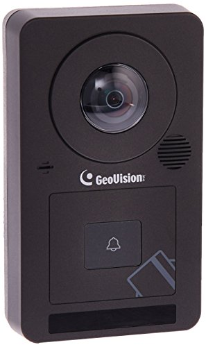 GeoVision GV-CS1320 2MP H.264 Camera Face Detection Access Controller with 180-degree panoramic lens and built-in 13.56 MHz Reader