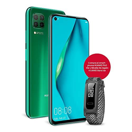 HUAWEI P40 Lite - Smartphone con pantalla de 6.4' FullView (Kirin 810, 6 GB de RAM,128 GB de ROM,...