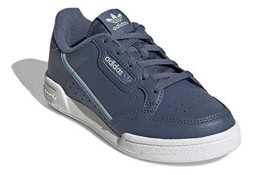 adidas Niño Continental 80 C Zapatillas Azul, 28
