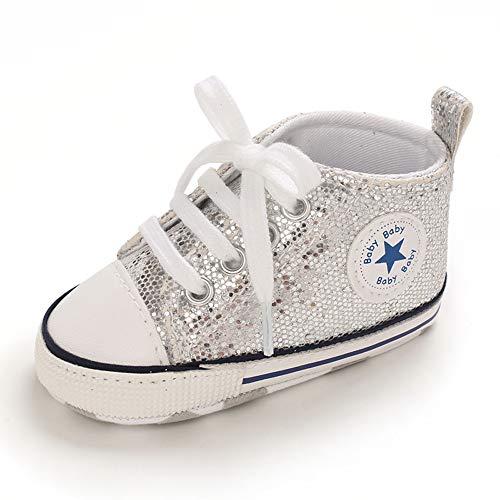 Keds baby girls Courtney Hook & Loop Sneaker, Silver, 10.5 Little Kid US