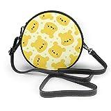 XCNGG Monedero pequeño para teléfono celular Dumbos Flying Leather Shoulder Bag Travel Daypack Women Girls Party Gift