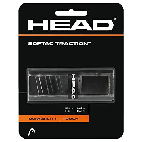 HEAD Unisex-Erwachsene Softac Traction Griffband, schwarz, Einheitsgröße